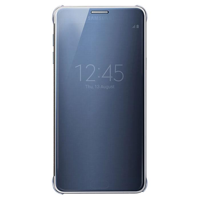 Samsung EF-ZN920 Clear View чехол для Galaxy Note 5, BlackEF-ZN920CBEGRUЧехол Samsung EF-ZN920 разработан специально для Galaxy Note 5. Крышка выполнена из полупрозрачного пластика, и вы всегда сможете видеть важную информацию, например время, дата, уровень заряда батареи, различные уведомления. Также можно ответить на звонок не откидывая крышку.