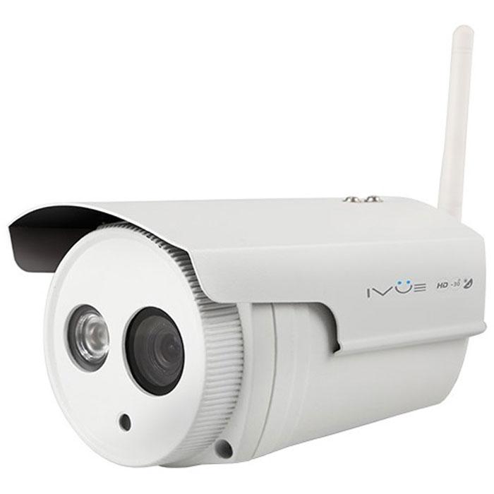 IVUE B1 IP камера видеонаблюдения4650067651132Наружная камера IVUE B1 IP имеет формат сжатия H.264, разрешение 1MPX, водонепроницаемый и морозоустойчивый корпус, ИК подсветку в ночное время до 20 метров, ИК фильтр для улучшения качества изображения, встроенный датчик движения и беспроводную передачу изображения по WiFi. Удаленный и локальный просмотр возможен с помощью функции P2P, а так же через стандартные интернет браузеры (лучше использовать IE или Firefox), Apple, Android, Blackberry. С помощью этой беспроводной камеры вы можете наблюдать и записывать на жесткий диск компьютера все происходящее у вас на даче или парковке. Различные стандарты сжатия видео нужны для оптимизации пропускной способности сети и объёма жёстких дисков за счёт уменьшения размера файлов видеозаписей. Новейший стандарт H.264 значительно повышает эффективность сжатия видеопотока при сохранении высокого качества. Совместимость с мобильными операционными системами IVUE B1 IP позволяет пользователям видеонаблюдения удалённо заходить на свои...