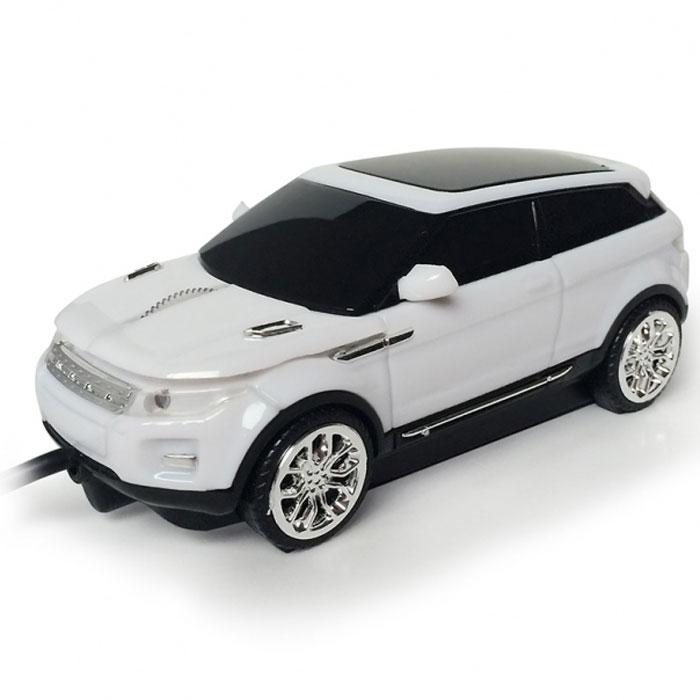 CBR MF 500 Rapido, White мышьMF 500Управлять престижным автомобилем – легко! Особенно если этот автомобиль – оригинальная компьютерная мышь от компании CBR. Корпус CBR MF 500 Rapido, в миниатюре повторяющий экстерьер оригинала, в сочетании с эффектной подсветкой передних и задних фар сделают эту мышь изюминкой рабочего пространства. Мышь удобна в управлении, а для начала работы достаточно подключить ее к USB-порту компьютера или ноутбука без установки дополнительного программного обеспечения.