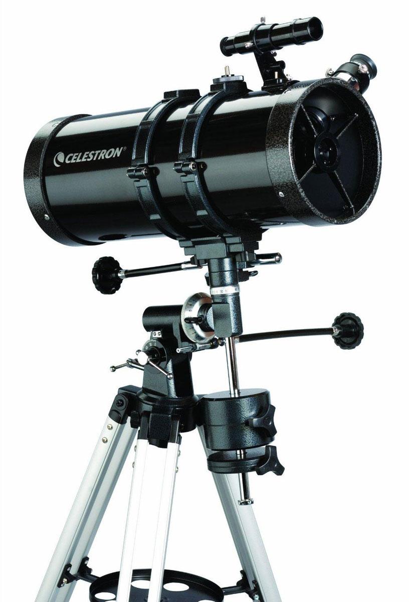 Celestron PowerSeeker 127 EQ телескоп-рефлектор НьютонаC21049Телескоп Celestron PowerSeeker 127 EQ обладает необходимым для начинающего наблюдателя набором базовых функций и предлагается по минимальной цене. Теперь, с помощью телескопа серии PowerSeeker Вы сможете познакомить своего ребенка со звездным небом, не тратя на оборудование астрономические суммы. Во всех инструментах серии используются только стеклянные объективы, имеющие большое преимущество перед пластиковыми линзами, используемыми в телескопах начального уровня некоторых других производителей. Для улучшения пропускания света на оптические элементы нанесено эффективное просветляющее покрытие. Угловое разрешение: 0,91 Длина оптической трубы: 51 см Линза Барлоу: 3х, 1,25 (увеличения 150х и 750х) Оптическая схема: рефлектор Ньютона Полностью просветленная стеклянная оптика (алюминиевое покрытие с SiO2) Экваториальная монтировка с механизмами тонких движений и координатными кругами Алюминиевый штатив с полочкой для аксессуаров ...