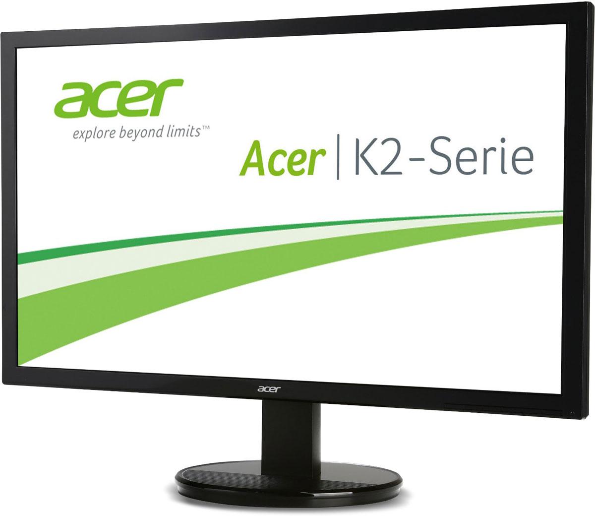 Acer K272HLbd, Black мониторUM.HW3EE.011Мониторы Acer K272HLbd — это доступные по цене устройства для повседневного использования. Они обеспечивают максимальный комфорт без ущерба для качества изображения. Стильный дизайн совмещает в себе широкие возможности подключения, с помощью различных портов, отличную производительность по привлекательной цене. Потрясающая производительность: Благодаря высокой детализации на экране со светодиодной подсветкой и разрешением Full HD, вы получите еще больше удовольствия от работы и развлечений. Благодаря системе адаптивного управления контрастностью Acer Adaptive Contrast Management, яркие цвета делают великолепное изображение еще лучше. Комфортный просмотр: Экран ComfyView предотвращает бликование для более комфортного просмотра. Также он воспроизводит яркие цвета, чтобы вы получили удовольствие от просмотра. Продуманная конструкция: Установите угол обзора дисплея K2 для оптимального просмотра с помощью эргономичной...