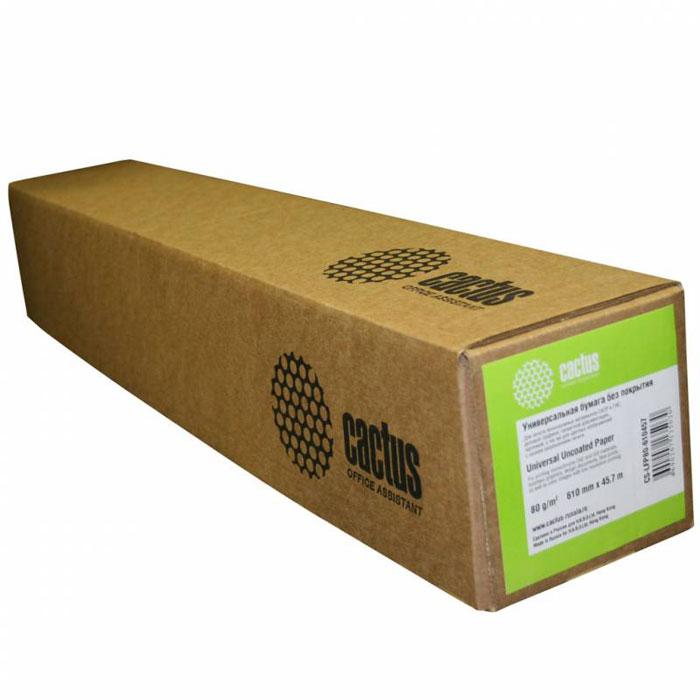 Cactus CS-LFP80-410457 универсальная бумага для плоттеровCS-LFP80-410457Универсальная бумага CactusCS-LFP80-410457 без покрытия для плоттеров. Длина: 45,7 м Ширина: 41 см Втулка: 50.8 мм (2)