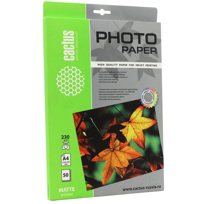 Cactus CS-MA423050 матовая фотобумага
