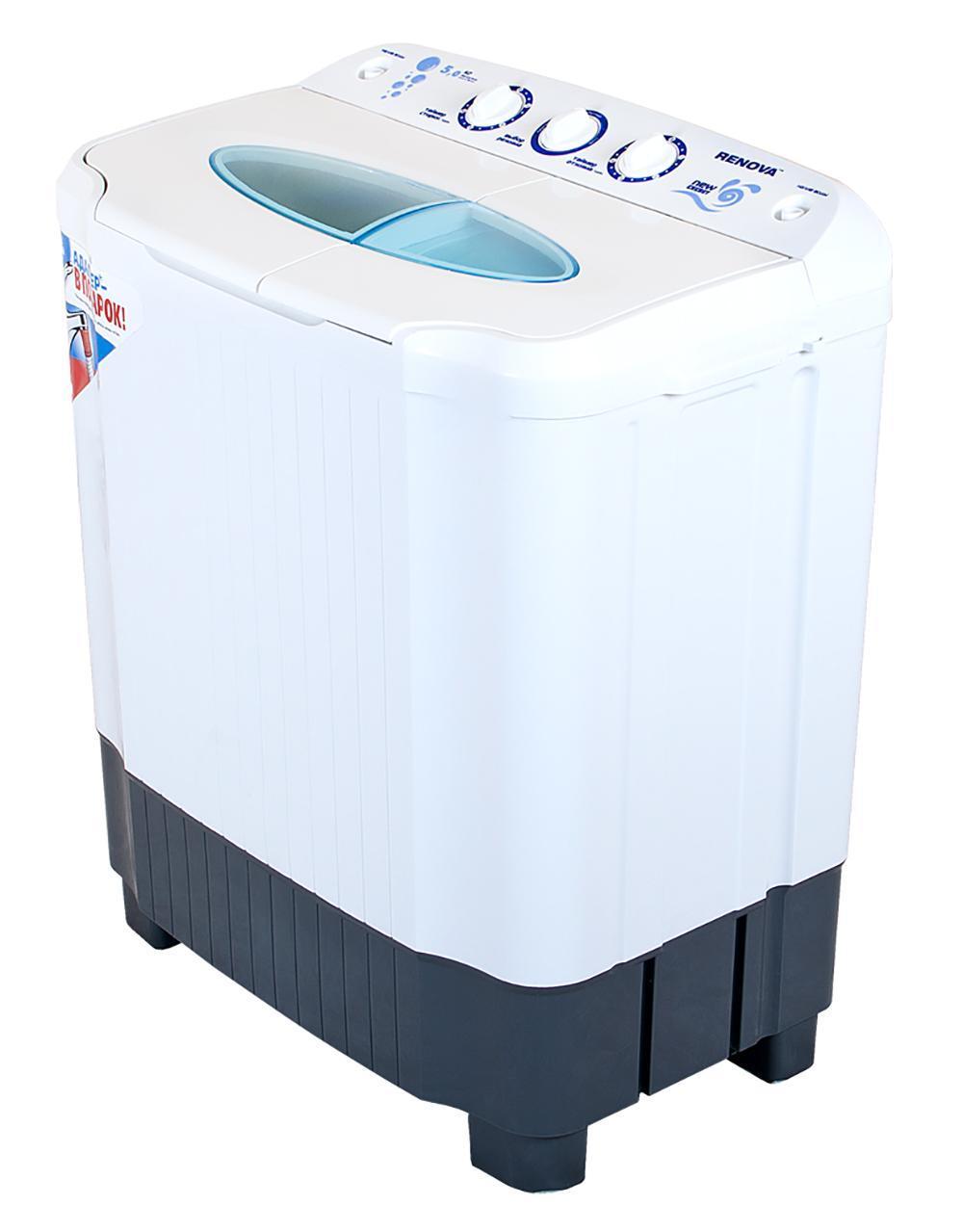 Renova WS-50PET стиральная машина4650000914546Новая серия New Energy Новый, более мощный двигатель, повышающий эффективность стирки Эксклюзивная форма активатора, направленно распределяет потоки воды, улучшая качество стирки Загрузка сухого белья в бак стирки до 5 кг Загрузка белья при отжиме до 4,5 кг Отжим 1350 об/мин Максимальная потребляемая мощность: 480 Вт Таймер Сливной насос Безопасная система отжима Пластиковый корпус, не подверженный коррозии Новый современный дизайн Габариты (ширина/глубина/высота): 650X390X760 мм Размеры упаковки: 690x420x790 мм Масса НЕТТО: 15 кг Класс энергоэффективности: А+ Сделано в России