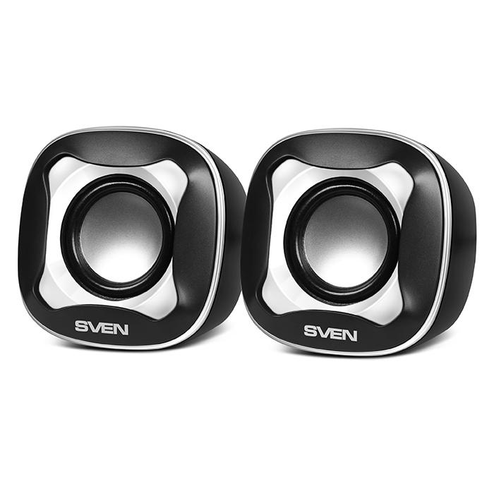 Sven 170, Black White акустическая система 2.0 ( SV-013523 )