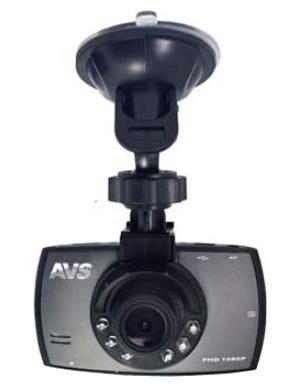 AVS VR-246DUAL, Black автомобильный видеорегистратор