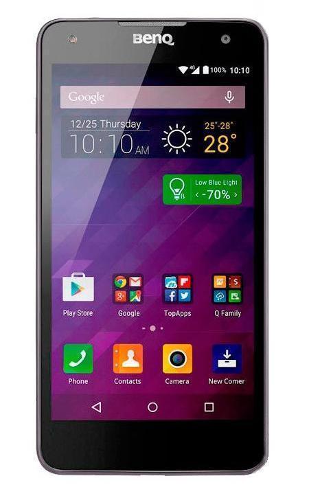 BenQ F52, Chic Gray9H.G21AA.D01BenQ F52 - это достойный ответ всем грядущим флагманам, среди которых Samsung Galaxy S5, LG G4 и HTC One M9. Аппарат несет в себе 64-битный 8-ядерный процессор Qualcomm Snapdragon 810 с графикой Adreno 430 и модемом LTE Cat.9 внутри, который, помимо всех своих достоинств, является самым мощным мобильным CPU в мире по состоянию на февраль 2015 года. Смартфон BenQ F52 поставляется с ОС Google Android 5.0 и оперативной памятью объемом 3 гигабайта. Накопитель здесь 16-гигабайтный, и предусмотрена установка карт памяти microSD. Присутствуют также камера на 8 Мп спереди и 13 Мп на тыльной части корпуса, а указанная выше поддержка сетей LTE 9-й категории позволяет передавать данные на скорости до 450 Мбит/с. К слову, матрицу для основной камеры ваяла сама Sony, так что можно надеяться на наличие у нее обратной засветки.