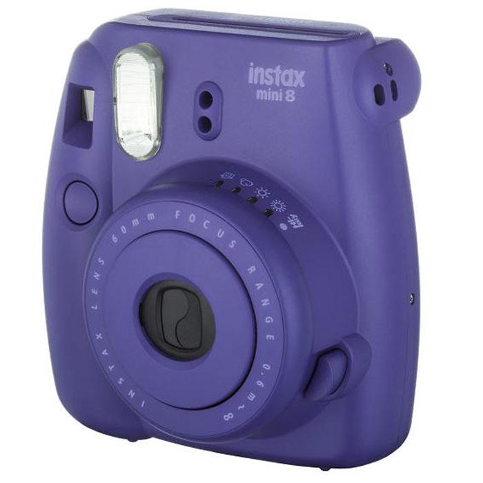 Fujifilm Instax Mini 8, Grape фотокамера мгновенной печати ( INSTAX MINI 8 )