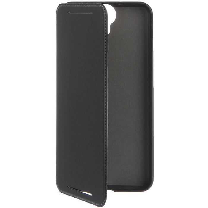 HTC HC C1130 чехол для One E9+, Leather Black99H11946-00Жесткий чехол HTC HC C1130 для One E9+ надежно защищает смартфон от механических повреждений, царапин, пыли и грязи. Твердая внешняя поверхность обеспечивает уверенное удерживание телефона в руке. Чехол обеспечивает свободный доступ к функциональным кнопкам и камере.