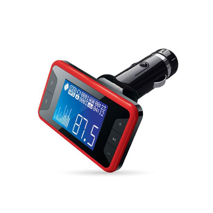 AVS F-532, Red MP3-плеер + FM-трансмиттер с дисплеем и пультом ( A80739S )