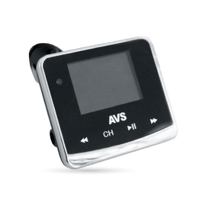 AVS F-558, Black MP3-плеер + FM-трансмиттер с дисплеем и пультом ( 43045 )