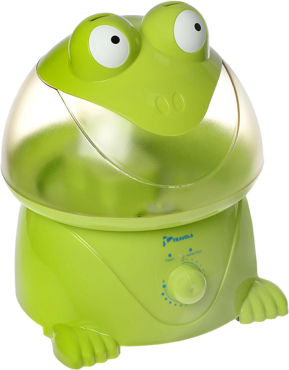 Travola GO-2003 ультразвуковой увлажнитель воздухаGO-2003Travola GO-2003 - это ультразвуковой увлажнитель воздуха для всей семьи, который отличается качеством и высокой надежностью. Даная модель сделает воздух в вашем доме чистым и свежим, а яркий дизайн станет хорошим украшением детской комнаты. С помощью этого прибора вы также можете производить распыление различных ароматов, полезных для всей семьи. Устройство очень просто в использовании. Продолжительность работы составляет примерно 10-12 часов. * Победитель номинации «Лучшая собственная торговая марка в сегменте ONLINE» Премия PRIVATE LABEL AWARDS (by IPLS) —международная премия в области собственных торговых марок, созданная компанией Reed Exhibitions в рамках выставки «Собственная Торговая Марка» (IPLS) 2016 с целью поощрения розничных сетей, а также производителей продовольственных и непродовольственных товаров за их вклад в развитие качественных товаров private label, которые способствуют росту уровня покупательского доверия в России и СНГ.