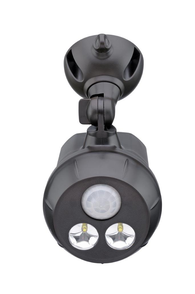 Светильник уличный MrBeams MB390, беспроводной, с датчиками движения и освещенности LED прожектор, 300 люмен, коричневый, 4 х DMB390Беспроводной LED прожектор с датчиками движения и освещенности Варианты применения: для использования внутри помещения и на улице. Подсветка в любом нужном месте - кладовка, подвал, участок, гараж, ворота, беседка, детская площадка. Яркость: 300 люмен, Цвет Белый (5000K) Площадь освещения: 38 кв. метра Датчик движения: дистанция срабатывания: 5- 8 метров Датчик освещенности: активация работы светильника только в темноте Таймер отключения при отсутствии движения: 20 секунд. Время работы на одном комплекте батареек: 1 год работы ежедневного типового использования или до 25 часов непрерывной работы Питание: 4 щелочные батарейки типа D (1.5 В) Простота монтажа/демонтажа: Крепление саморезами (в комплекте). Безопасность: Отсутствие электрической проводки, корпус защищен от случайного проникновения маленьких детей. Надежность: срок службы LED до 30000 часов. Высококачественный пластик с защитой от ультрафиолетовых лучей – не выгорает под солнцем. Размеры (Ш*В*Г): 9,8 * 16,5 * 11,4 см...