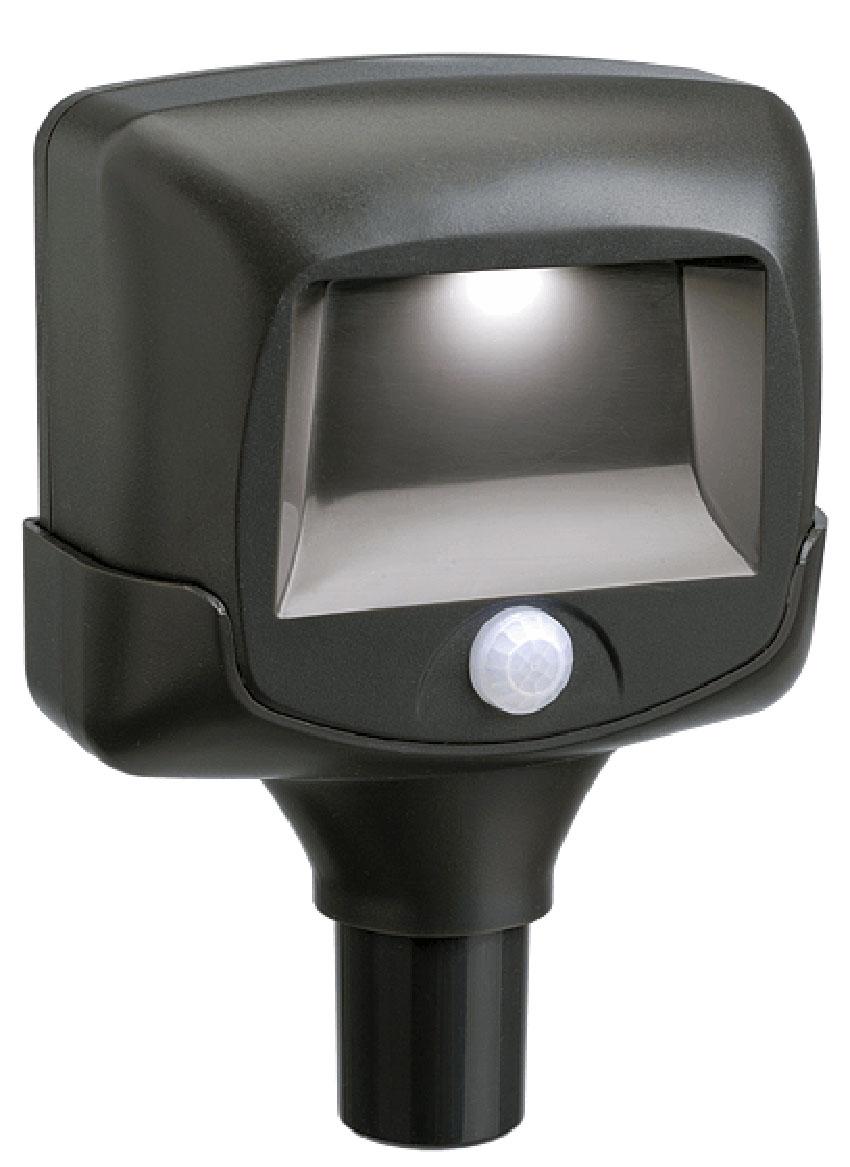 Светильник MrBeams MB572, беспроводной, с датчиками движения и освещенности 2 шт. LED подсветка дорожек, 35 люмен, коричневый, 3 х