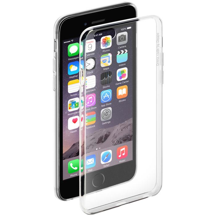 Deppa Gel Case чехол для Apple iPhone 6/6s, Clear85202Чехол Deppa Gel Case для Apple iPhone 6/6s предназначен для защиты корпуса смартфона от механических повреждений и царапин в процессе эксплуатации. Имеется свободный доступ ко всем разъемам и кнопкам устройства. Чехол изготовлен из TPU производства Bayer и имеет толщину 0,7 мм.