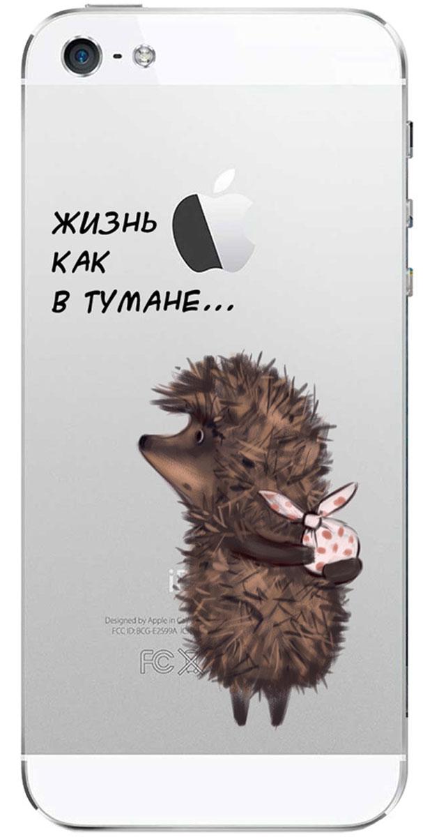 Deppa Art Case чехол для Apple iPhone 5/5s, Союзмультфильм (ежик)100570Чехол Deppa Art Case для Apple iPhone 5/5s предназначен для защиты корпуса смартфона от механических повреждений и царапин в процессе эксплуатации. Имеется свободный доступ ко всем разъемам и кнопкам устройства. Чехол изготовлен из поликарбоната толщиной 1 мм и оформлен принтом с изображением героев Союзмультфильма. В комплект также входит защитная пленка из трехслойного японского материала PET.