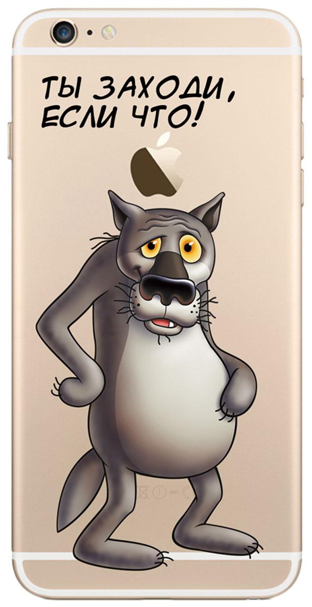 Deppa Art Case чехол для Apple iPhone 6 Plus/6s Plus, Союзмультфильм (волк)100579Чехол Deppa Art Case для Apple iPhone 6 Plus/6s Plus предназначен для защиты корпуса смартфона от механических повреждений и царапин в процессе эксплуатации. Имеется свободный доступ ко всем разъемам и кнопкам устройства. Чехол изготовлен из поликарбоната толщиной 1 мм и оформлен принтом с изображением героев Союзмультфильма. В комплект также входит защитная пленка из трехслойного японского материала PET.