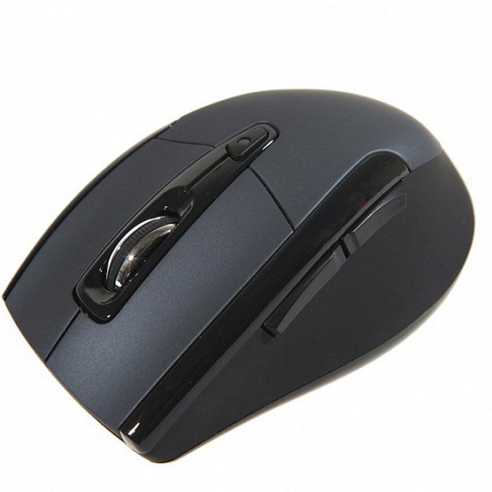 SmartBuy SBM-610AG, Blue мышьSBM-610AG-BБеспроводная мышь SmartBuy SBM-610AG подходит для работы с ноутбуком и настольным ПК. Устройство выполнено в эргономичном дизайне и имеет симметричную форму, благодаря чему подходит для управления любой рукой. Оптический сенсор с высоким переключаемым разрешением 1000 / 1500 / 2000 dpi позволяет использовать устройство в различных графических приложениях и текстовых редакторах.SmartBuy SBM-610AG также оснащена колесом прокрутки с идеальным протектором.