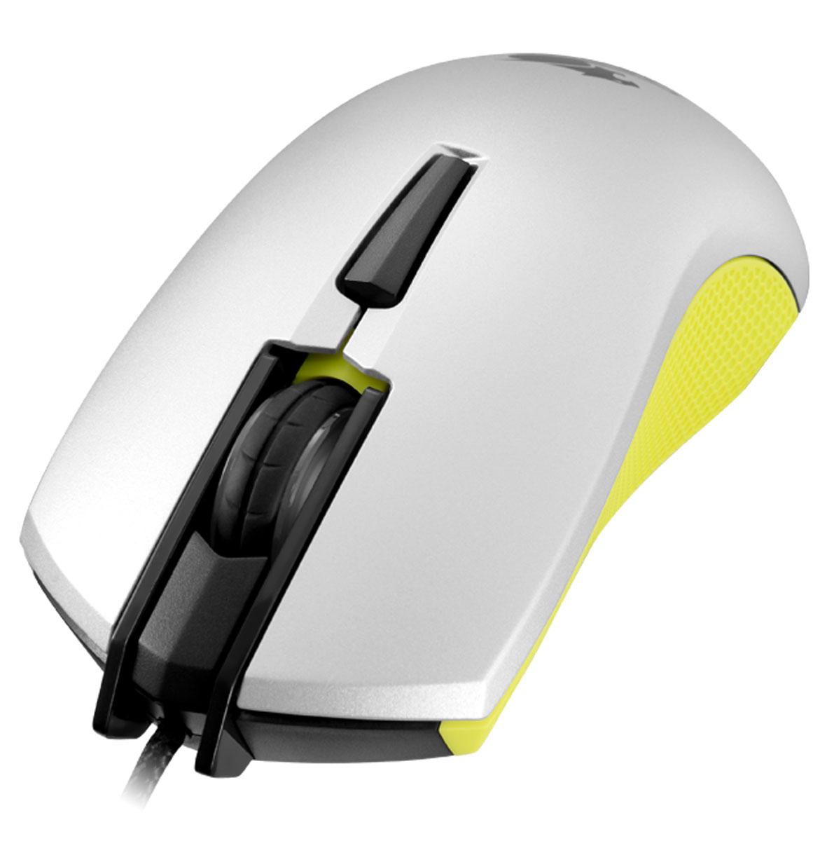 Cougar 230M, Yellow игровая мышьCU230M-YИгровая мышь Cougar 230M с оптическим сенсором продвинутого игрового уровня сочетает в себе доступную цену и функциональность. Продвинутый сенсор 3200 dpi: Сенсорная технология игровой точности 3200 dpi. Высокопроизводительный оптический датчик. Переключатели Omron: Переключатели Omron гарантируют 5 миллионов кликов для самой продолжительной игровой жизни. Переключение On-the-Fly: Система настройки разрешения dpi ON-THE-FLY. Быстрое переключение между различными настройками разрешения - 400/800/1600/3200 dpi. симметричная форма: Удобная форма Cougar 230M идеально подходит для хвата как правой, так и левой рукой, а дополнительные клавиши расположены с обеих сторон, что позволяет и левшам, и правшам использовать полную функциональность мыши. Плетеный Кабель: Прочное и долговечное решение для игроманов, защищает мышь Cougar 230M от износа. Нескользящее боковое покрытие: ...