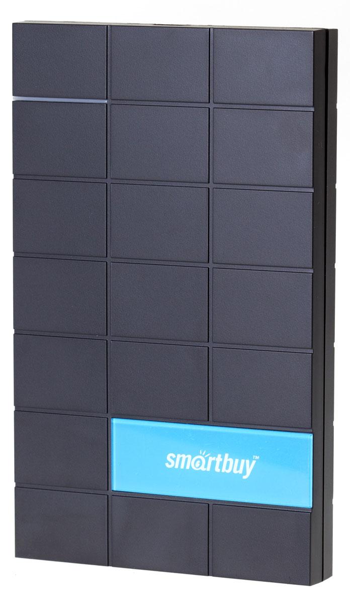 SmartBuy Crux 1TB, Black внешний жесткий дискSB010TB-MYS323-25USB2-BKВнешний жесткий диск SmartBuy Crux 1TB является надежным средством для хранения и транспортировки больших объемов информации. Компактные размеры дюйма делают его отличным портативным устройством, а 1000 ГБ объема хватает для хранения текстовых файлов, а также фото и видео архивов. Буферная память: 8 МБ Скорость передачи данных: до 60 МБ/с