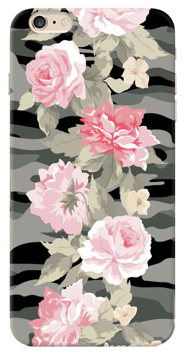 Deppa Art Case чехол для Apple iPhone 6 Plus, Military (пионы)100052Чехол Deppa Art Case для Apple iPhone 6 Plus предназначен для защиты корпуса смартфона от механических повреждений и царапин в процессе эксплуатации. Имеется свободный доступ ко всем разъемам и кнопкам устройства. Чехол изготовлен из поликарбоната толщиной 1 мм и оформлен принтом в стиле милитари с изображением пионов. В комплект также входит защитная пленка из трехслойного японского материала PET.