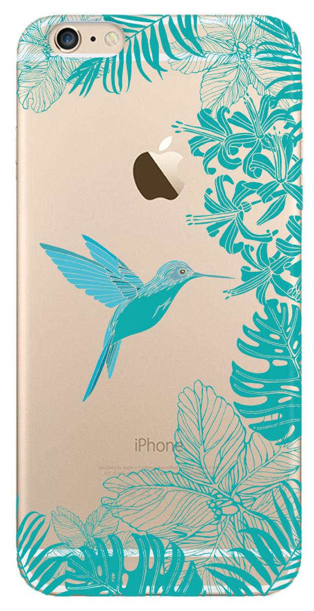 Deppa Art Case чехол для Apple iPhone 6 Plus/6s Plus, Jungle (колибри)100157Чехол Deppa Art Case для Apple iPhone 6 Plus/6s Plus предназначен для защиты корпуса смартфона от механических повреждений и царапин в процессе эксплуатации. Имеется свободный доступ ко всем разъемам и кнопкам устройства. Чехол изготовлен из поликарбоната толщиной 1 мм и оформлен ярким принтом с изображением колибри. В комплект также входит защитная пленка из трехслойного японского материала PET.