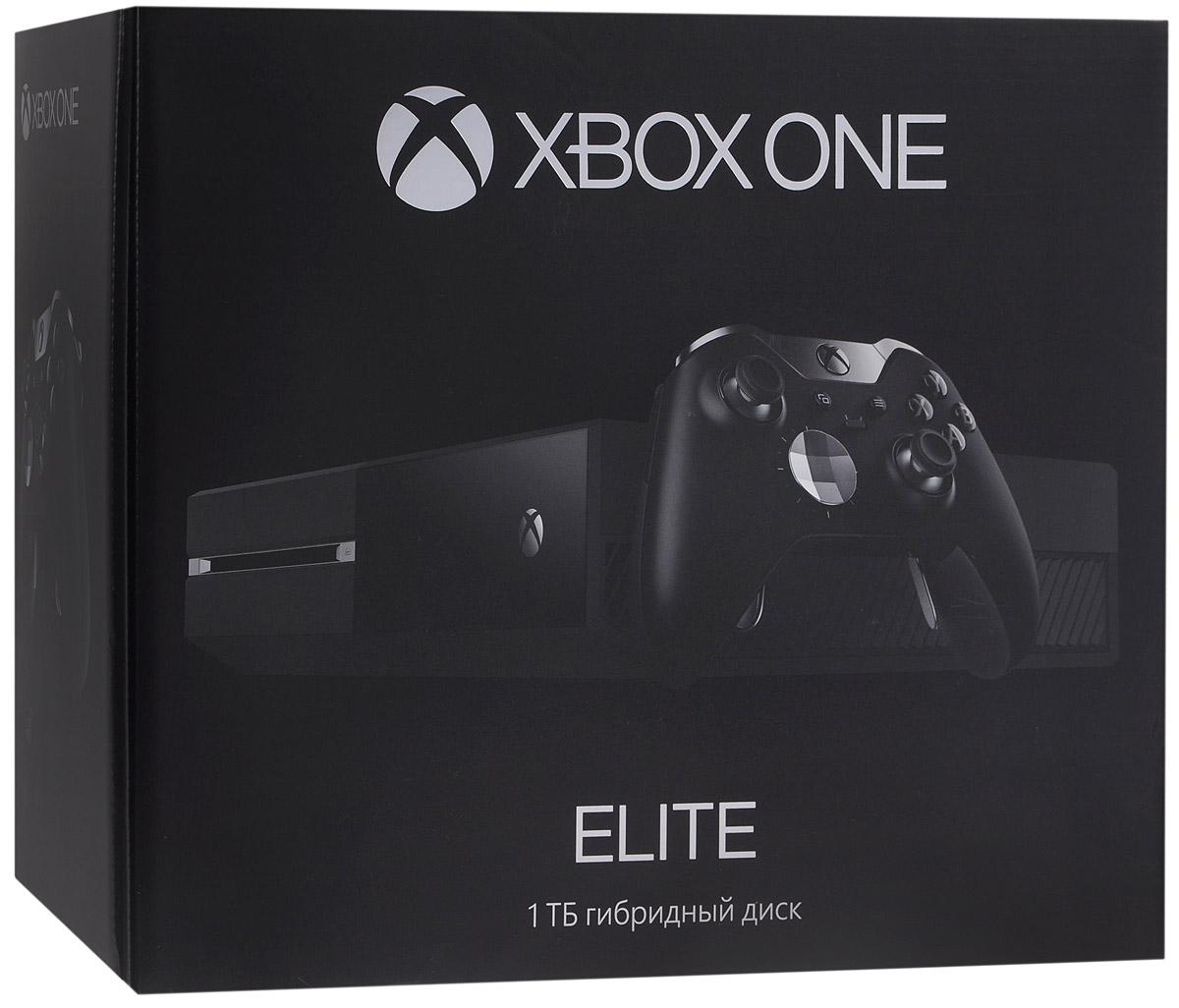 Игровая приставка Xbox One Elite 1 ТБKG4-00062Игровая приставка Xbox One Elite 1 ТБ откроет вам новую эру игр и развлечений следующего поколения, которые расширяют границы реальности! Xbox One — это игровая консоль, система телевидения и домашнего кинотеатра следующего поколения в одном устройстве. Больше не придется переключать входы на телевизоре, чтобы поиграть или посмотреть фильм. Консоль позволяет легко переключаться между просмотром телевизора и фильмов, прослушиванием музыки и играми! Играйте на профессиональном уровне с комплектом Xbox One Elite. Устанавливайте в два раза больше игр, благодаря новому гибридному жесткому диску объемом 1 ТБ с твердотельным накопителем. Теперь консоль выходит из спящего режима на 20% быстрее - включайтесь в игру первым. С новым геймпадом Xbox One Elite вы сможете играть с профессиональной точностью благодаря заменяемым компонентам, блокировке хода курка Hair Trigger Lock и безграничным возможностям настройки через удобное приложение. Выбирайте из разнообразных ...