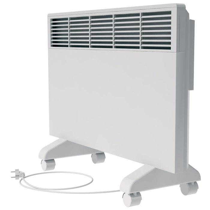 Noirot CNX-2 2000 электрический обогреватель29.7264.7.ARERNoirot CNX-2 2000 - это электрический обогреватель конвективного типа. Вся конструкция прибора направлена на равномерное распределение тепла для обогрева с максимальным комфортом. Устройство работает по принципу естественной конвекции. Холодный воздух, проходя через конвектор и его нагревательный элемент, нагревается и выходит сквозь решетки-жалюзи, незамедлительно начиная обогревать помещение. Обогреватель оснащен надежным механическим термостатом и поддерживает комфортный микроклимат при минимальном потреблении электроэнергии. Прибор применяется в качестве основного и дополнительного отопления загородных домов, городских квартир, застекленных балконов, зимних садов и т. д., а также в других местах, где электрическое отопление является единственно возможным. Конвектор легко и быстро монтируется на стену или устанавливается на специальные ножки (дополнительная опция, приобретаются отдельно). Конструктивные особенности конвектора...