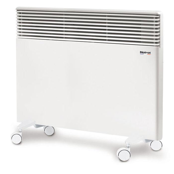Noirot Spot E-4 1000 электрический обогреватель29.H117.2.FDFSNoirot Spot E-4 1000 - это электрический обогреватель конвективного типа. Вся конструкция Spot Е-4 направлена на равномерное распределение тепла для обогрева с максимальным комфортом. Конвектор работает по принципу естественной конвекции. Холодный воздух, проходя через прибор и его нагревательный элемент, нагревается и выходит сквозь решетки-жалюзи, незамедлительно начиная обогревать помещение. Конструктивные особенности конвекторов серии Spot E-4 исключают возникновение посторонних шумов при нагреве и остывании электрических обогревателей и гарантируют полную безопасность в эксплуатации (отсутствие острых углов, нагрев поверхности не выше 60°С). Автоматика выдерживает перепады напряжения от 150 В до 242 В, что наиболее актуально при частых скачках напряжения. На случай возможных перебоев с электропитанием в обогревателе предусмотрена функция авторестарта, восстанавливающая работу прибора в прежнем режиме. Обогреватель имеет 2 класс...