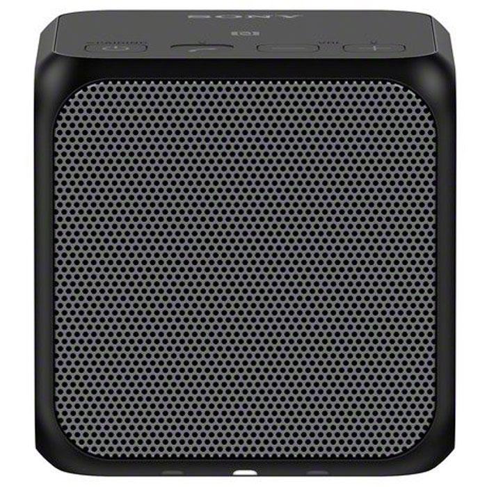 Sony SRS-X11, Black портативная акустическая системаSRSX11B.RU7Двойные пассивные излучатели для создания отличных басов даже в компактном корпусе. Два пассивных излучателя находятся с правой и левой стороны компактного корпуса в форме куба. Благодаря давлению воздуха, полученное от динамиков мощностью 10 Вт, эти излучатели обеспечивают достойное звучание басов, несмотря на скромные размеры Sony SRS-X11. Прослушивание в одно касание для мгновенного воспроизведения музыки. Благодаря технологии NFC (Near Field Communication) больше не нужны ни провода, ни сложные подключения. Достаточно приложить смартфон или другое NFC-совместимое устройство к N-метке на корпусе, и сразу же начнется воспроизведения музыки. Нет NFC? Ничего страшного. Сопряжение можно также установить вручную в разделе настроек Bluetooth. Используйте два устройства одновременно для создания стереозвука или равномерно распределенного звучания. Подключив два устройства Sony SRS-X11 по Bluetooth, вы можете выбрать воспроизведение в...