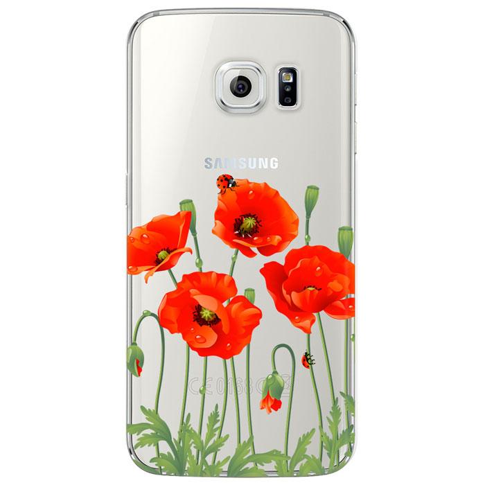 Deppa Art Case ����� ��� Samsung Galaxy S6 edge, Flowers (���)100122����� Deppa Art Case ��� Samsung Galaxy S6 Edge ������������ ��� ������ ������� ��������� �� ������������ ����������� � ������� � �������� ������������. ������� ��������� ������ �� ���� �������� � ������� ����������. ����� ���������� �� ������������� �������� 0,8 �� � �������� ������� � ������������ ������� ����. � �������� ����� ������ �������� ������ �� ������������ ��������� ��������� PET.