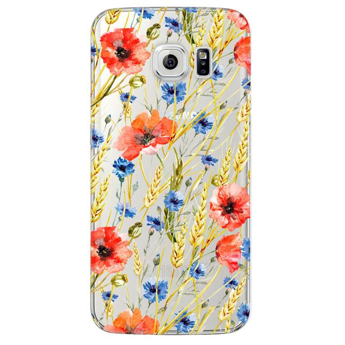 Deppa Art Case чехол для Samsung Galaxy S6 Edge, Flowers (пшеница)100121Чехол Deppa Art Case для Samsung Galaxy S6 Edge предназначен для защиты корпуса смартфона от механических повреждений и царапин в процессе эксплуатации. Имеется свободный доступ ко всем разъемам и кнопкам устройства. Чехол изготовлен из поликарбоната толщиной 0,8 мм и оформлен принтом с изображением пшеницы. В комплект также входит защитная пленка из трехслойного японского материала PET.