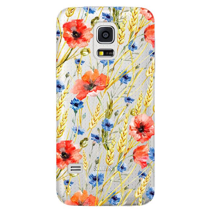 Deppa Art Case чехол для Samsung Galaxy S5 mini, Flowers (пшеница)100113Чехол Deppa Art Case для Samsung Galaxy S5 mini предназначен для защиты корпуса смартфона от механических повреждений и царапин в процессе эксплуатации. Имеется свободный доступ ко всем разъемам и кнопкам устройства. Чехол изготовлен из поликарбоната толщиной 1 мм и оформлен принтом с изображением пшеницы. В комплект также входит защитная пленка из трехслойного японского материала PET.