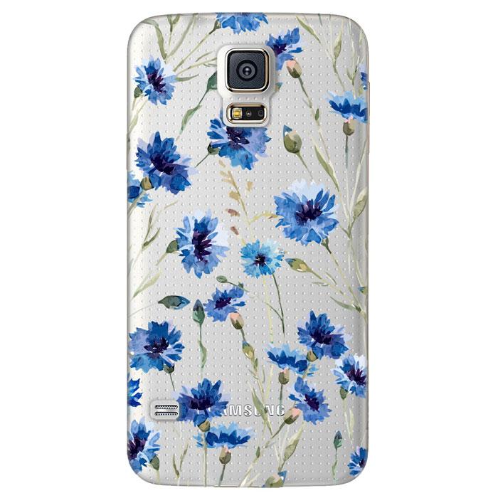 Deppa Art Case чехол для Samsung Galaxy S5, Flowers (василек)100108Чехол Deppa Art Case для Samsung Galaxy S5 предназначен для защиты корпуса смартфона от механических повреждений и царапин в процессе эксплуатации. Имеется свободный доступ ко всем разъемам и кнопкам устройства. Чехол изготовлен из поликарбоната толщиной 1 мм и оформлен принтом с изображением василька. В комплект также входит защитная пленка из трехслойного японского материала PET.