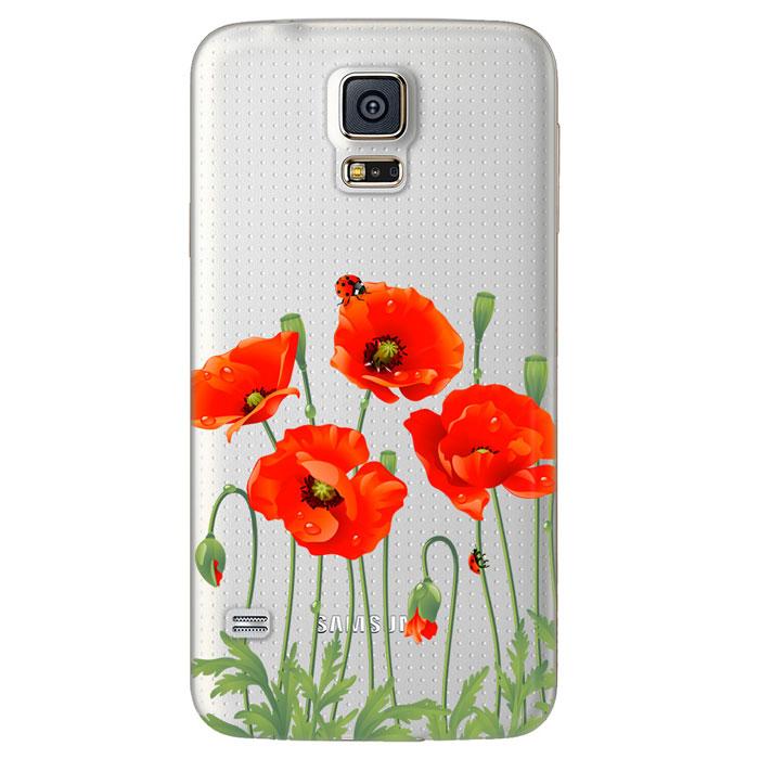Deppa Art Case чехол для Samsung Galaxy S5, Flowers (мак)100110Чехол Deppa Art Case для Samsung Galaxy S5 предназначен для защиты корпуса смартфона от механических повреждений и царапин в процессе эксплуатации. Имеется свободный доступ ко всем разъемам и кнопкам устройства. Чехол изготовлен из поликарбоната толщиной 1 мм и оформлен принтом с изображением цветков мака. В комплект также входит защитная пленка из трехслойного японского материала PET.
