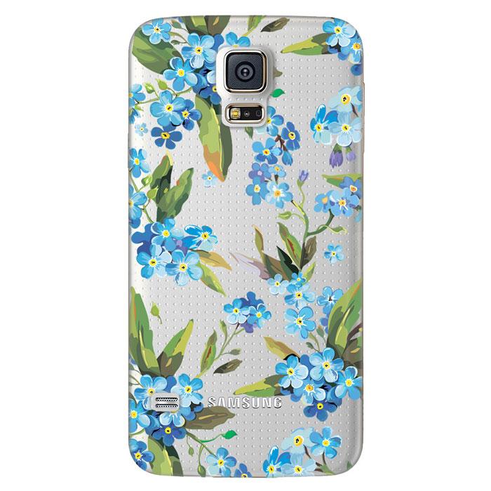 Deppa Art Case чехол для Samsung Galaxy S5, Flowers (незабудка)100111Чехол Deppa Art Case для Samsung Galaxy S5 предназначен для защиты корпуса смартфона от механических повреждений и царапин в процессе эксплуатации. Имеется свободный доступ ко всем разъемам и кнопкам устройства. Чехол изготовлен из поликарбоната толщиной 1 мм и оформлен принтом с изображением цветков незабудки. В комплект также входит защитная пленка из трехслойного японского материала PET.