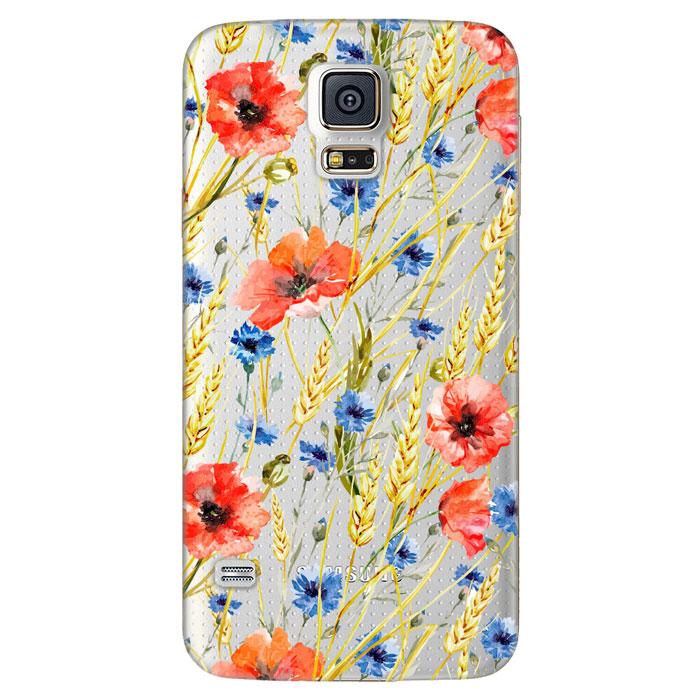 Deppa Art Case чехол для Samsung Galaxy S5, Flowers (пшеница)100109Чехол Deppa Art Case для Samsung Galaxy S5 предназначен для защиты корпуса смартфона от механических повреждений и царапин в процессе эксплуатации. Имеется свободный доступ ко всем разъемам и кнопкам устройства. Чехол изготовлен из поликарбоната толщиной 1 мм и оформлен принтом с изображением пшеницы. В комплект также входит защитная пленка из трехслойного японского материала PET.