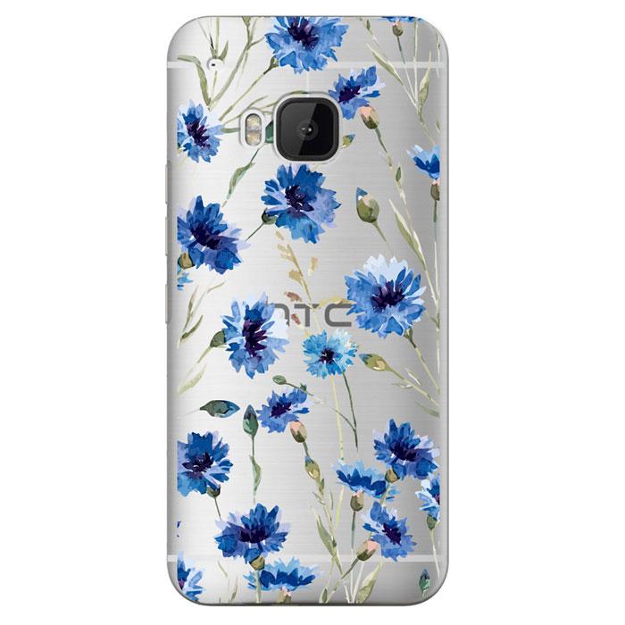 Deppa Art Case чехол для HTC One M9, Flowers (василек)100140Чехол Deppa Art Case для HTC One M9 предназначен для защиты корпуса смартфона от механических повреждений и царапин в процессе эксплуатации. Имеется свободный доступ ко всем разъемам и кнопкам устройства. Чехол изготовлен из поликарбоната толщиной 1 мм и оформлен принтом с изображением василька. В комплект также входит защитная пленка из трехслойного японского материала PET.