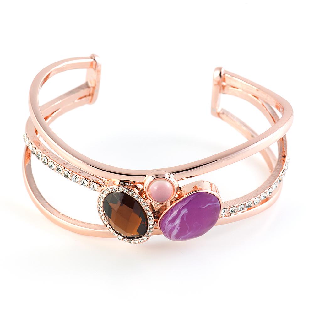 Браслет Selena Medea. 4007853040078530Ювелирная смола, кристаллы Preciosa. Гальваническое покрытие: золото.