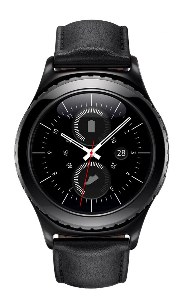 Samsung Gear S2 Classic SM-R732, Black смарт-часы