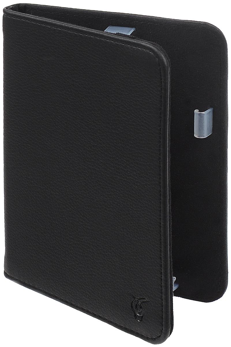 Vivacase Basic чехол для Reader Book 1, BlackVRD-B1BS01-blЧехол Vivacase Basic предназначен для защиты электронной книги Reader Book 1 от механических повреждений и влаги. Мягкие резиновые крепления позволяют надежно зафиксировать устройство.