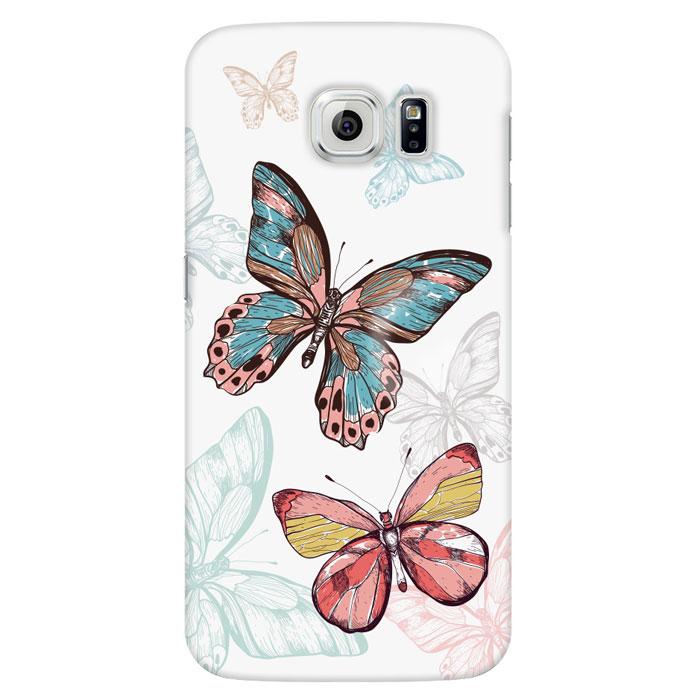 Deppa Art Case чехол для Samsung Galaxy S6, Pastel (бабочки)100220Чехол Deppa Art Case для Samsung Galaxy S6 предназначен для защиты корпуса смартфона от механических повреждений и царапин в процессе эксплуатации. Имеется свободный доступ ко всем разъемам и кнопкам устройства. Чехол изготовлен из поликарбоната толщиной 0,7 мм и оформлен принтом с изображением бабочек. В комплект также входит защитная пленка из трехслойного японского материала PET.