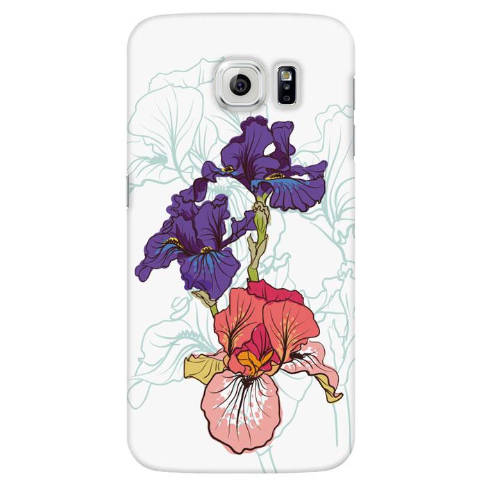 Deppa Art Case чехол для Samsung Galaxy S6, Pastel (ирисы)100221Чехол Deppa Art Case для Samsung Galaxy S6 предназначен для защиты корпуса смартфона от механических повреждений и царапин в процессе эксплуатации. Имеется свободный доступ ко всем разъемам и кнопкам устройства. Чехол изготовлен из поликарбоната толщиной 0,7 мм и оформлен принтом с изображением ирисов. В комплект также входит защитная пленка из трехслойного японского материала PET.