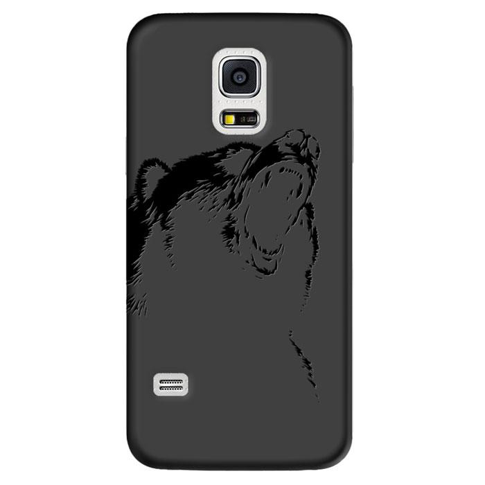 Deppa Art Case чехол для Samsung Galaxy S5 mini, Black (медведь)100268Чехол Deppa Art Case для Samsung Galaxy S5 mini предназначен для защиты корпуса смартфона от механических повреждений и царапин в процессе эксплуатации. Имеется свободный доступ ко всем разъемам и кнопкам устройства. Чехол изготовлен из поликарбоната толщиной 1 мм и оформлен принтом с изображением медведя. В комплект также входит защитная пленка из трехслойного японского материала PET.