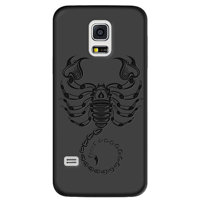 Deppa Art Case чехол для Samsung Galaxy S5 mini, Black (скорпион)100271Чехол Deppa Art Case для Samsung Galaxy S5 mini предназначен для защиты корпуса смартфона от механических повреждений и царапин в процессе эксплуатации. Имеется свободный доступ ко всем разъемам и кнопкам устройства. Чехол изготовлен из поликарбоната толщиной 1 мм и оформлен принтом с изображением скорпиона. В комплект также входит защитная пленка из трехслойного японского материала PET.