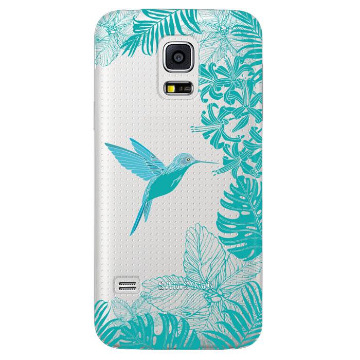Deppa Art Case чехол для Samsung Galaxy S5 mini, Jungle (колибри)100165Чехол Deppa Art Case для Samsung Galaxy S5 mini предназначен для защиты корпуса смартфона от механических повреждений и царапин в процессе эксплуатации. Имеется свободный доступ ко всем разъемам и кнопкам устройства. Чехол изготовлен из поликарбоната толщиной 1 мм и оформлен принтом с изображением колибри. В комплект также входит защитная пленка из трехслойного японского материала PET.