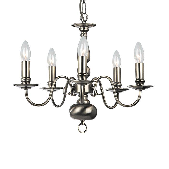 Светильник подвесной Arte Lamp Antwerpen A1029LM-5ABA1029LM-5AB