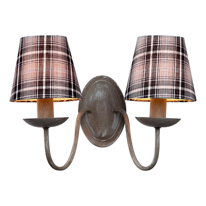 Светильник настенный Arte Lamp Scotch A3090AP-2GYA3090AP-2GY