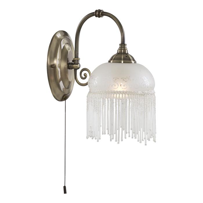Светильник настенный Arte Lamp Victoriana A3191AP-1ABA3191AP-1AB