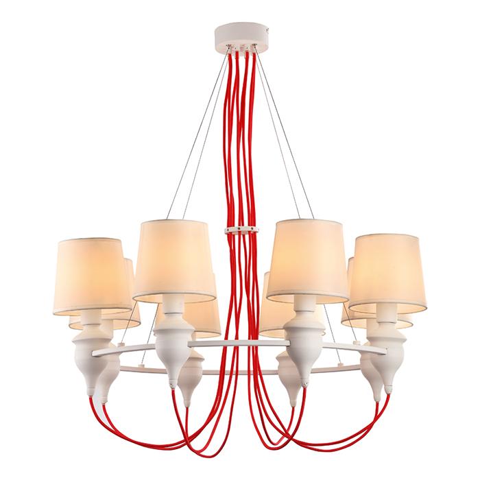 Светильник подвесной Arte Lamp SERGIO A3325LM-8WHA3325LM-8WH